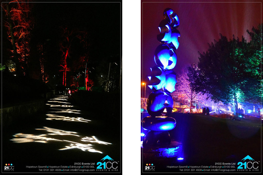 chinese lighting by 21CC Events Ltd