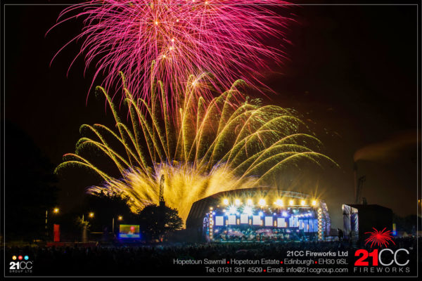 Proms in the park fireworks