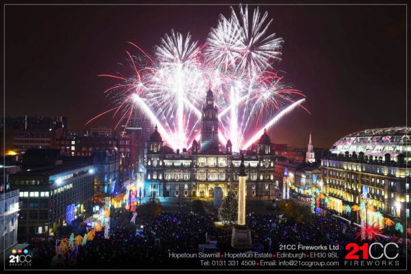 edinburgh fireworks company by 21CC Fireworks Ltd