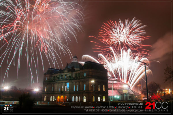 guy fawkes fireworks scotland by 21CC Fireworks Ltd