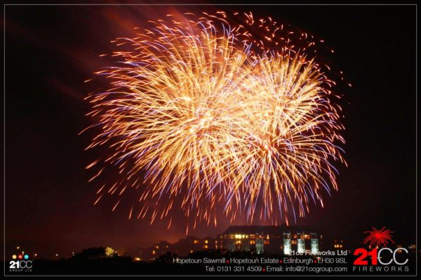 21cc Fireworks for Corporate Events