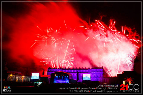 21cc Fireworks for Festival Events