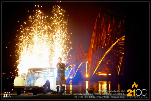 21cc Pyrotechnics for Awards and Launches