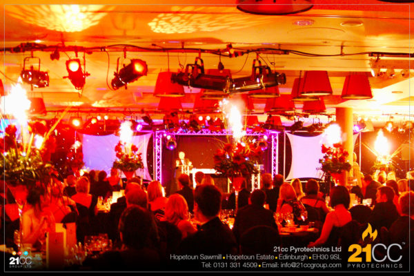 21cc Pyrotechnics for Corporate Events