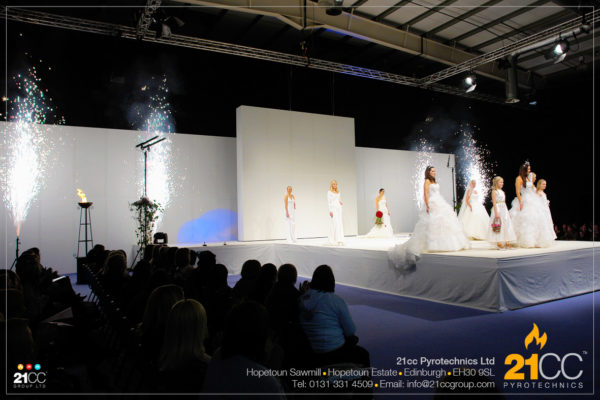 21cc Pyrotechnics for Fashion Shows