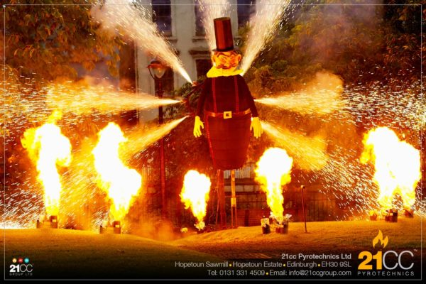 21cc Pyrotechnics for Public Events