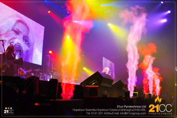 21cc Pyrotechnics for Stadiums and Concerts