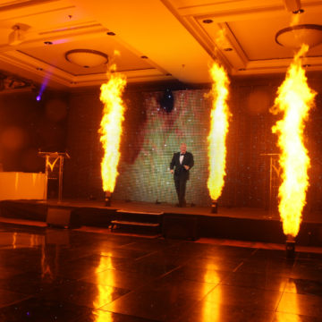 Corporate Event Pyrotechnics | 21CC Group Ltd