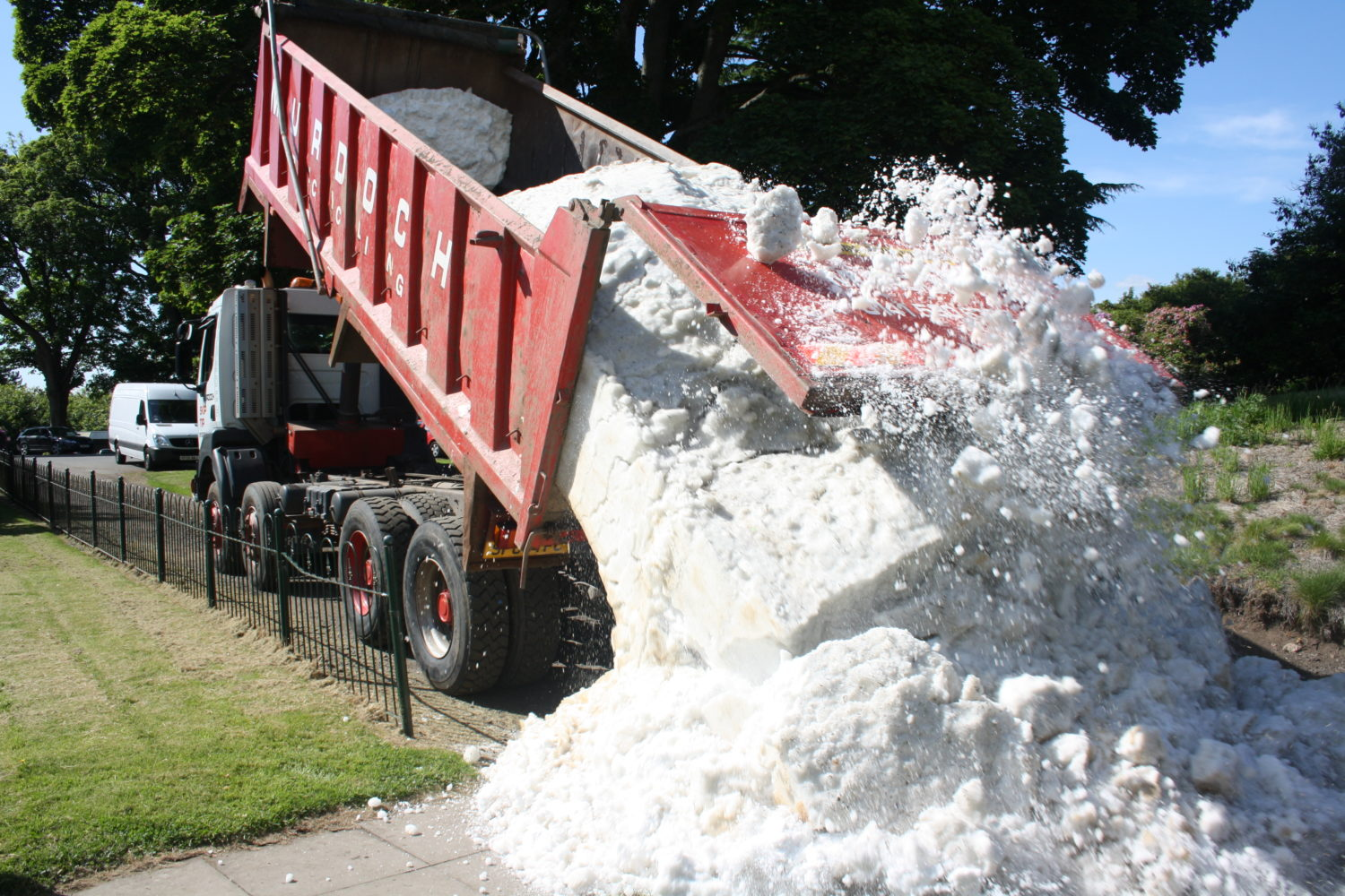 real snow hire